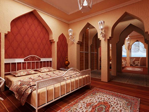 Пример марокканского интерьера