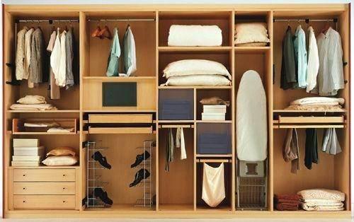 Пример наполнения шкафа