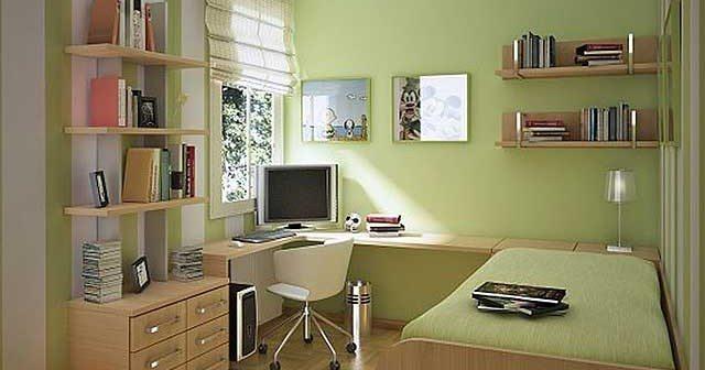 Пример обустройства комнаты для мальчика-подростка.