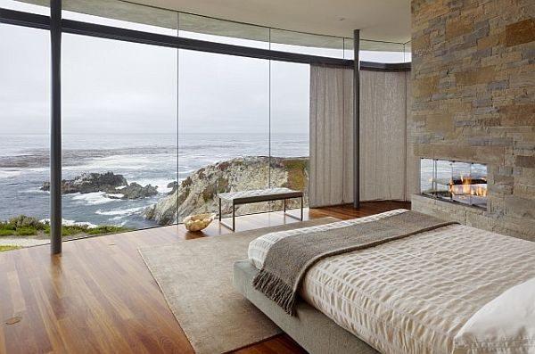 Пример помещения с панорамным окном