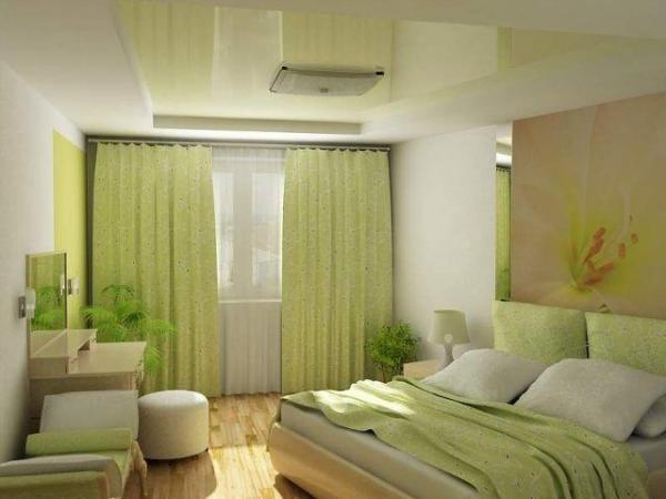 Приятные глазу оттенки, удобная кровать – все говорит об утонченном вкусе хозяина этих апартаментов.