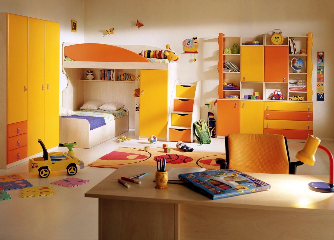 Просторная светлая комната, рассчитанная на двоих детей