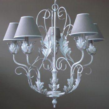 Простой и одновременно изысканный потолочный светильник