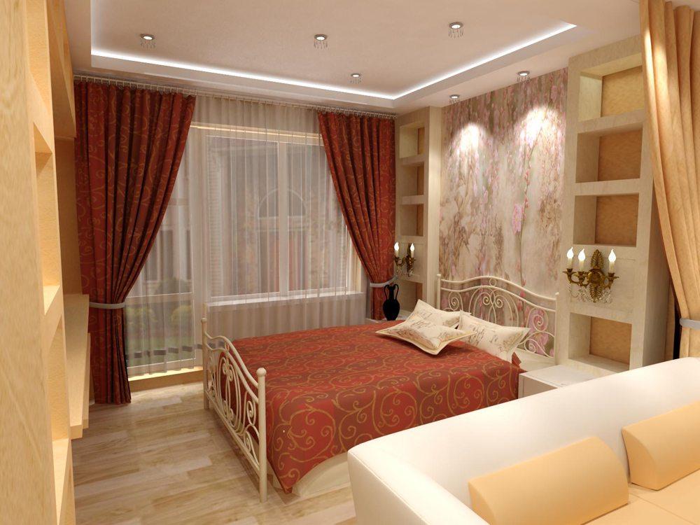 Спальни гостинные дизайн