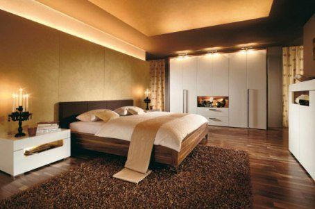 Различные варианты освещения в пределах одной комнаты