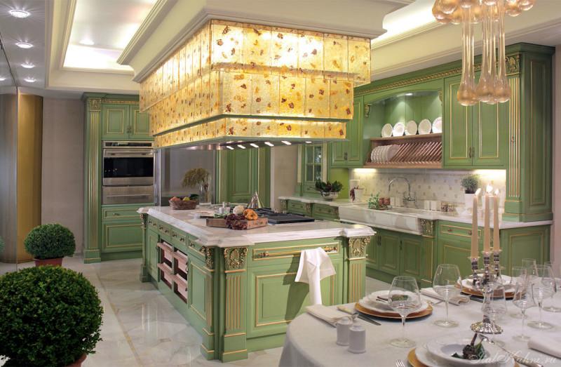 Итальянский стиль в интерьере современной кухни