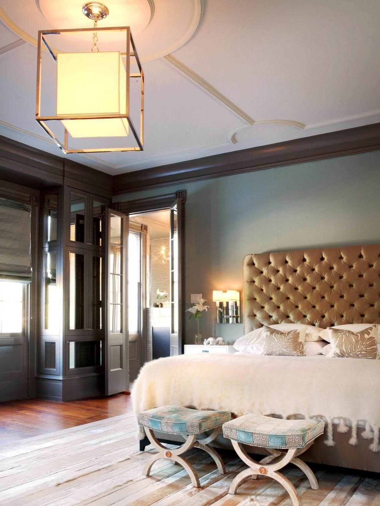 Романтическое освещение спальни