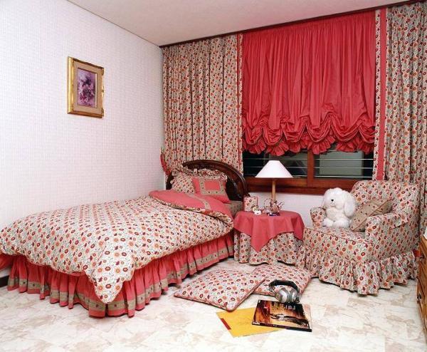 Романтика, которую дарят французские шторы