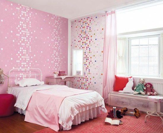 Розовый цвет в спальне – добавляем ярких красок