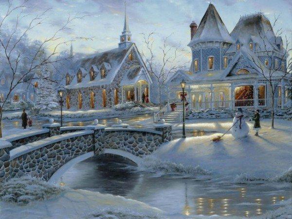 «Северная» зимняя сказка
