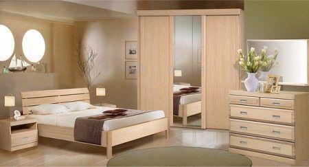 Шифоньер как элемент спального гарнитура