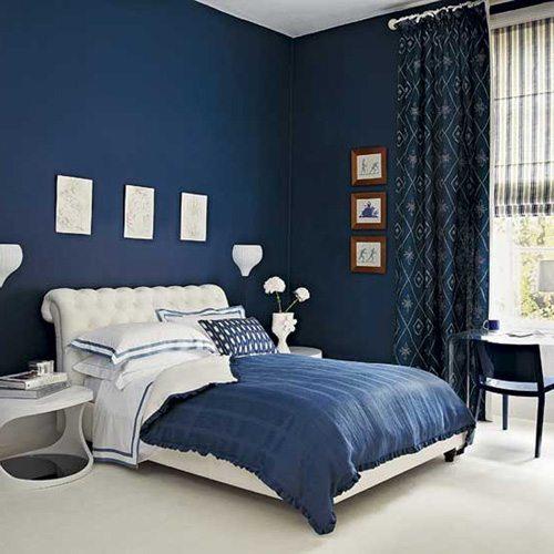 Синее и белое: соотношение преданности и чистоты!