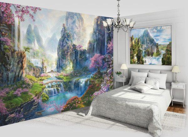 Сказочный мир в спальне