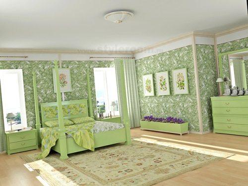 Со вкусом подобранная отделка в вашей спальне будет способствовать полноценному отдыху.