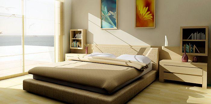 Спальня-Инь – мечта активных людей!
