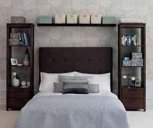 Спальня на 12 м кв по самой своей площади не может вызвать ощущение пустоты, но даже к этому нужно стремиться (фото «В»)