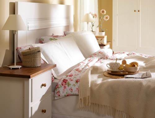 Спальня в английском стиле – уделяйте внимание аксессуарам