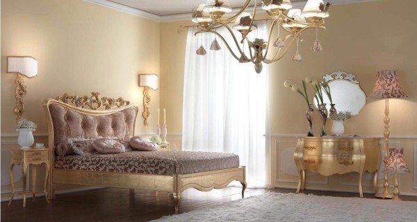Спальня в стиле арт-деко.