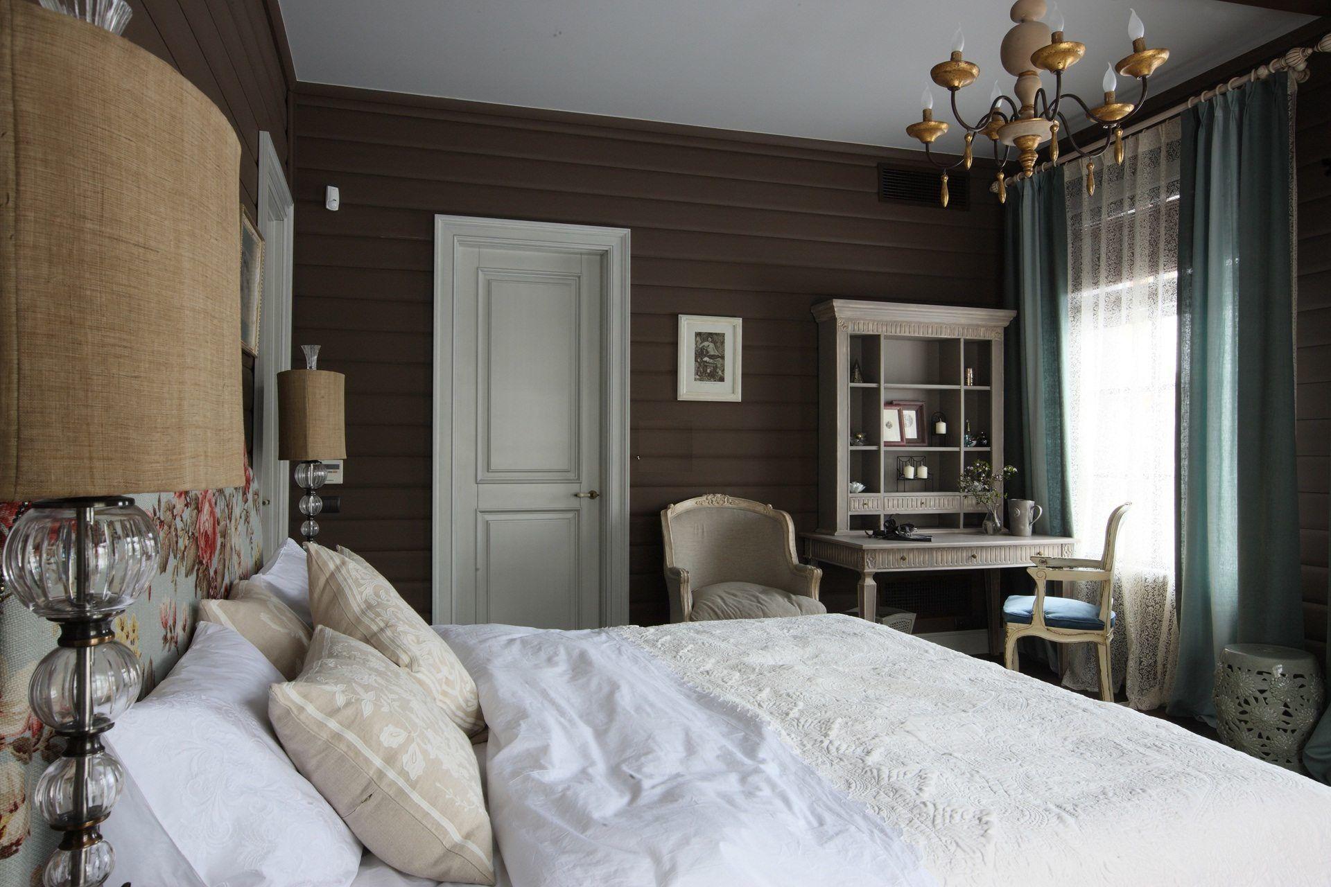 Спальня в доме фото