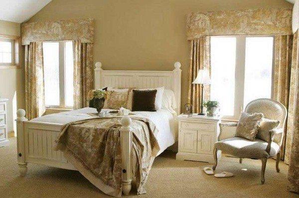Спальня в стиле прованс.