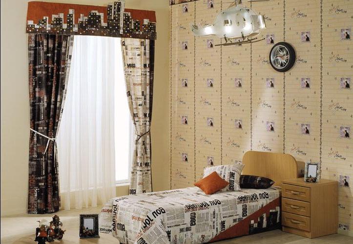 Шторы для подростковой комнаты