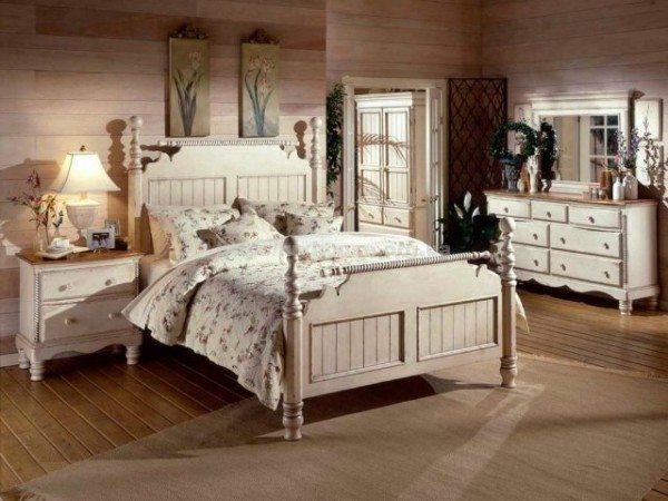 Стиль кантри: в таком помещении по-домашнему тепло и уютно