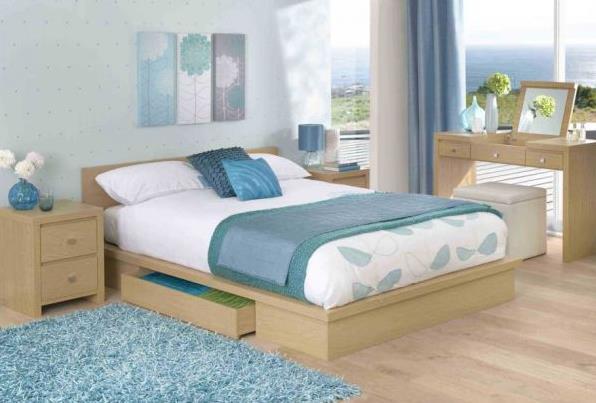 Светлые оттенки для спальни