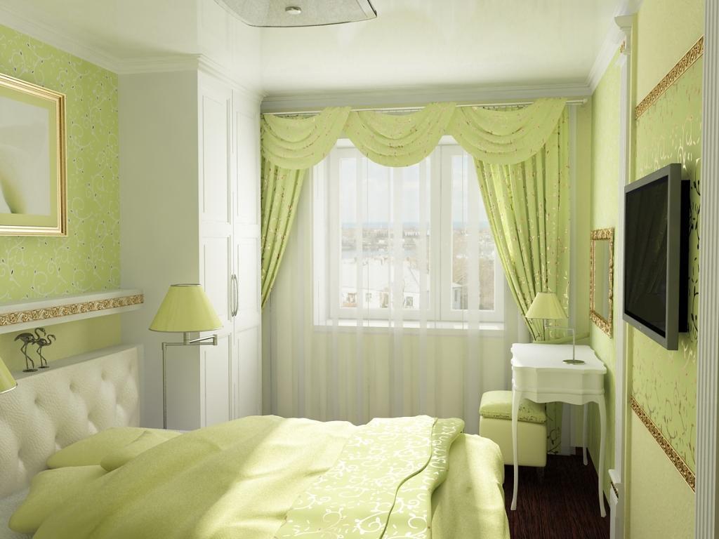 Светлые тона окраски стен зрительно расширяют пространство.