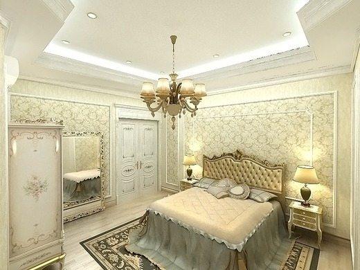 Светлый дизайн комнаты делает ее по-настоящему просторной.