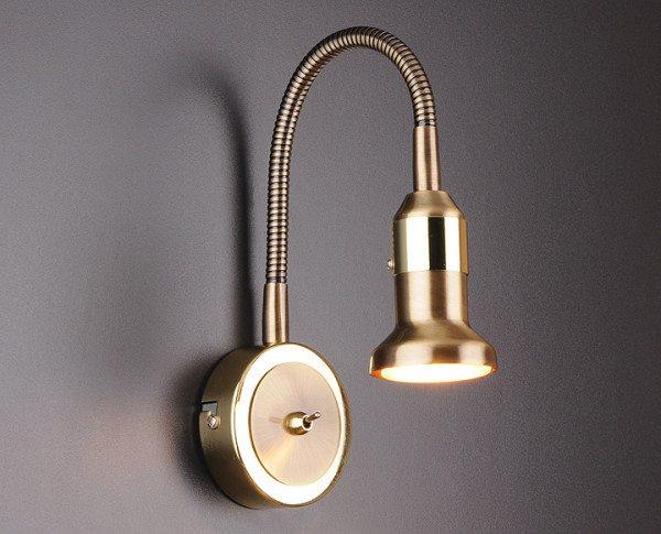 Светодиодный настенный светильник – отличное решение для спальни