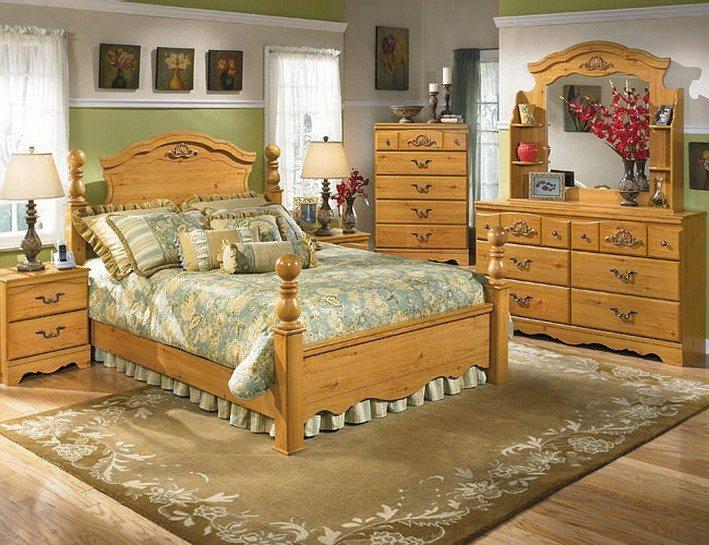 Такая приятная спальня в английском стиле станет излюбленным местом отдыха.