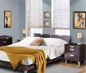 Такой декор спальни 12 кв м может заслужить звание «Выбор редакции», если бы не стиль постели («D»)