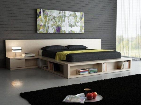Такой прикроватный блок как-то совершенно заставляет забыть, что это всё-таки кровать, а значит, место отдыха («H»)