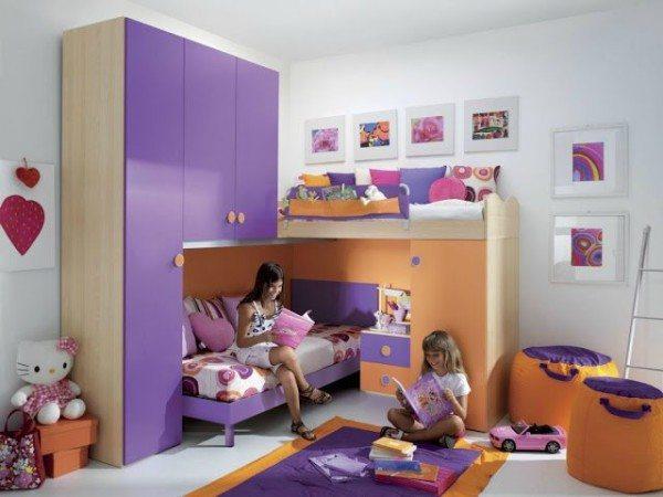 Цветовое решение для детской