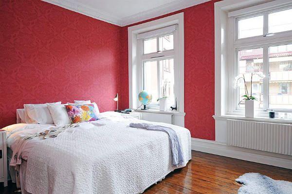Цветовое решение штор для спальни