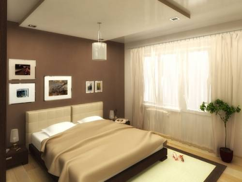 Удобная кровать – главное при оформлении спальни