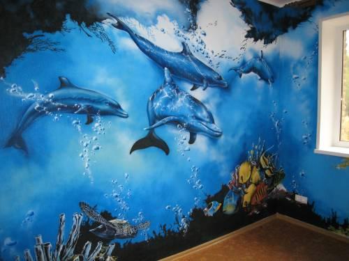 Умиротворяющая синева морских глубин