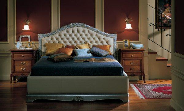 Уникальный дизайн в спальню: классика все же позволяет нам проявить свое мастерство.