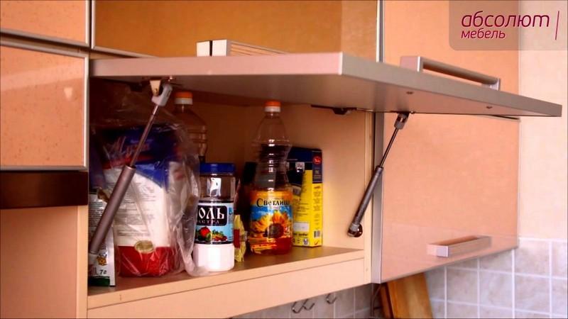 установка доводчиков для кухонных шкафов