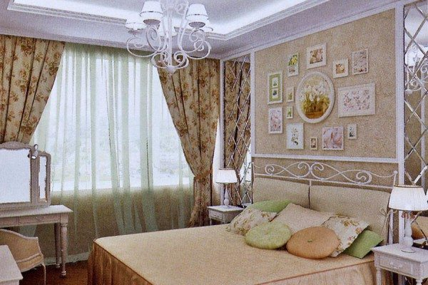 Уютный и теплый дизайн в стиле кантри