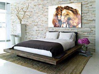 Вариант современного декора стиле «loft»