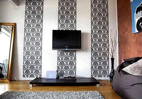 Вертикальное комбинирование визуально увеличивает высоту потолка