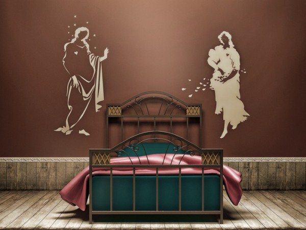 Виниловые наклейки сделают интерьер комнаты по-настоящему стильным