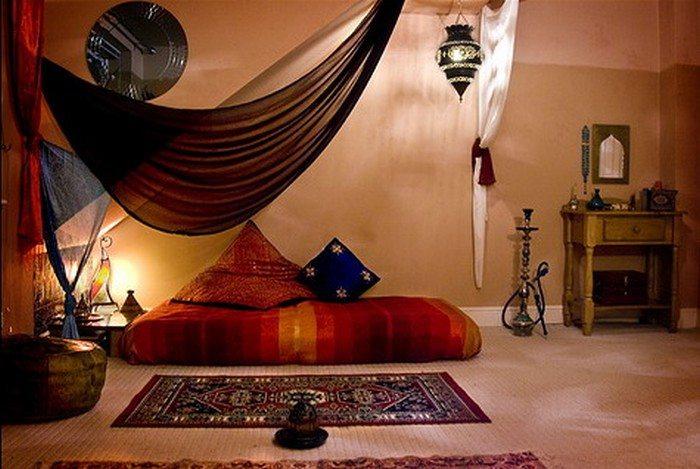Восхитительная арабская сказка в современной квартире.