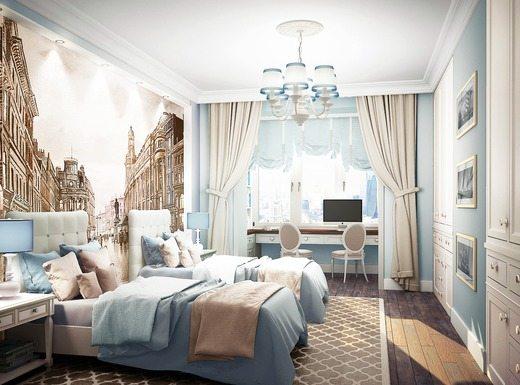 Вроде бы такой лаконичный и простой дизайн: спальни в неоклассическом стиле выглядят невероятно элегантно, солидно и богато.