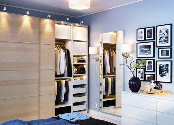 Встроенный шкаф может заменить гардеробную
