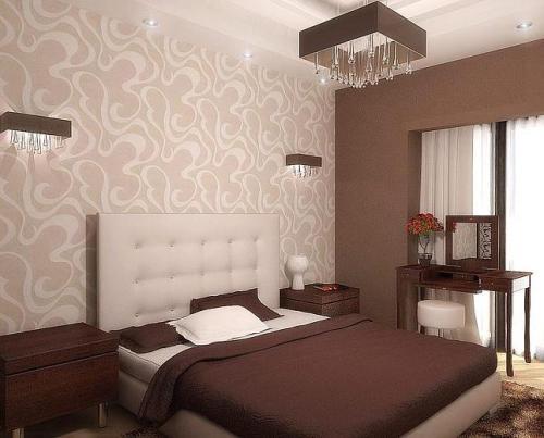 Выбор цвета обоев для спальни - ответственное и вместе с тем интересное занятие