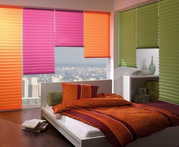 Яркие шторы для смелых натур