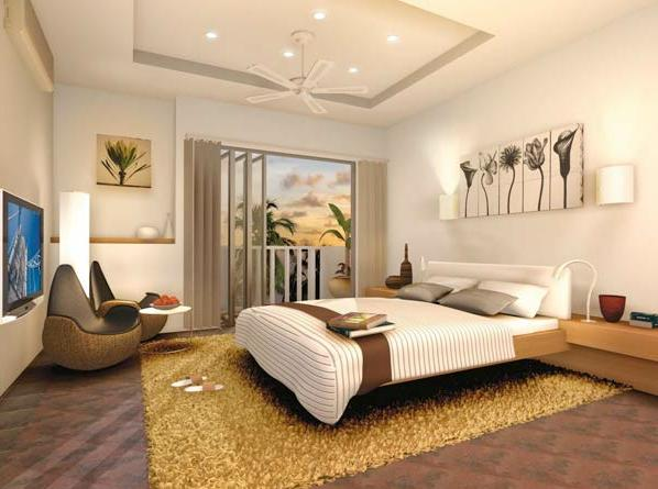 Задача, какой потолок сделать в спальне, не решается сама по себе – она лишь составная часть задачи создания всего дизайна этого помещения