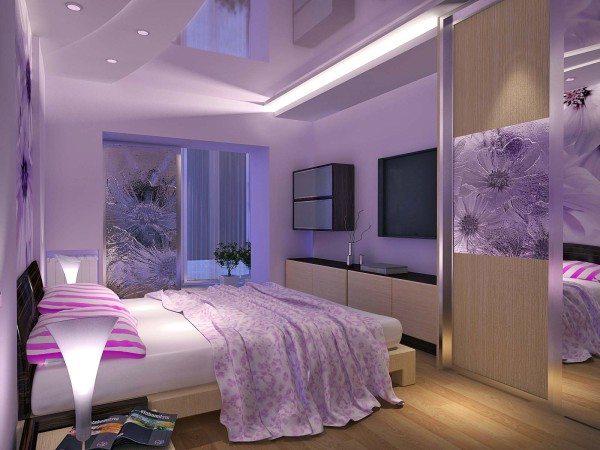 Зеркало в спальне по фэншую не может находиться напротив кровати.